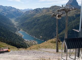Lac de Fabrèges, vallée d'ossau