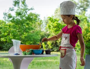 jeune pâtissière