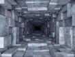 Leinwandbild Motiv tunnel
