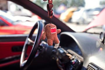 Talisman in car