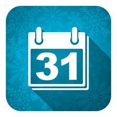 calendar flat icon,  organizer sign, agenda symbol
