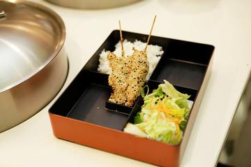 Asiatische Küche, Büffett