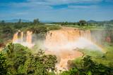 Fototapety Tiss abay Falls on the Blue Nile river, Ethiopia