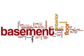 Basement word cloud