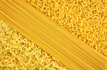 a variety of pasta