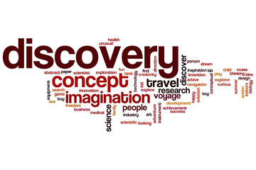 Discovery word cloud