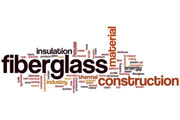 Fiberglass word cloud