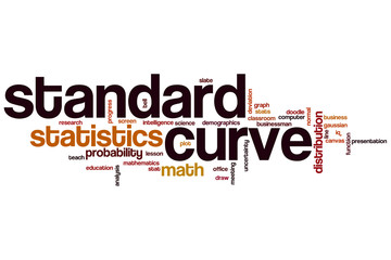 Standard curve  word cloud