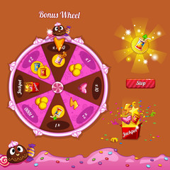 Fortune Wheel for the game interface