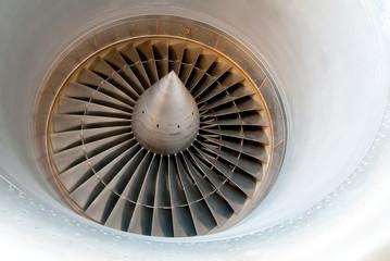 Turbine aero engine compressor.