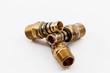 Leinwanddruck Bild - parts of copper
