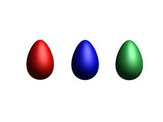Rendered eggs