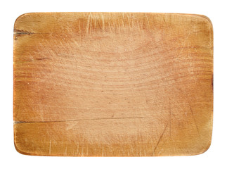 Wooden board with copyspace