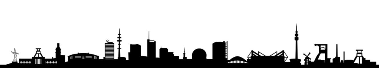 Skyline Ruhrgebiet