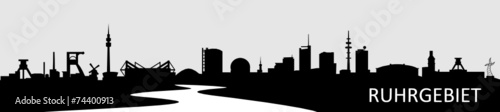 Skyline Ruhrgebiet - 74400913