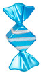 Bright Christmas tree toy blue candy