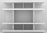 empty bookshelf - 74401511