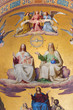 Vienna - Holy Trinity fresco from Altlerchenfelder church
