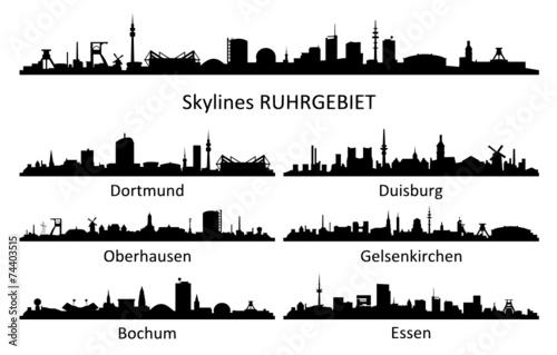 Skyline Ruhrgebiet - 74403515