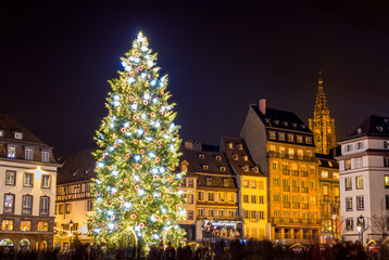 "Christmas tree in Strasbourg, ""Capital of Christmas"". 2014 - Als"