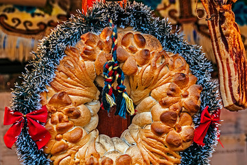 Traditional bread from Maramures, Romania