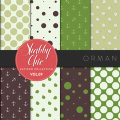 Shabby Chic Pattern Collection - Orman