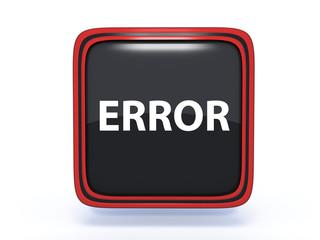 error square icon on white background
