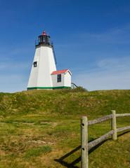 Plymouth Lighthouse in Massachusetts