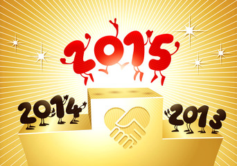 2015 funny greeting card