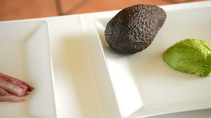 Avocado and fish like cooking ingredients