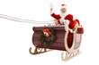 Happy Santa Claus in Christmas