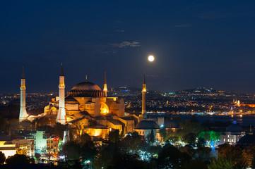 aya sofya in istanbul, turkey