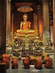 wat yai suwannaram, phetburi ,thailand