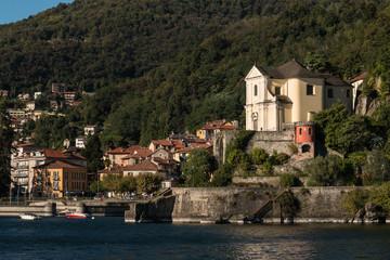 Maccagno comune at Lago Maggiore