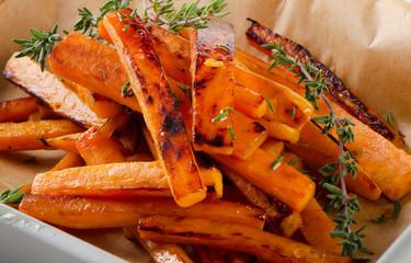 sweet potato fries with fresh thyme