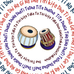 Indian musical instruments - Tabla