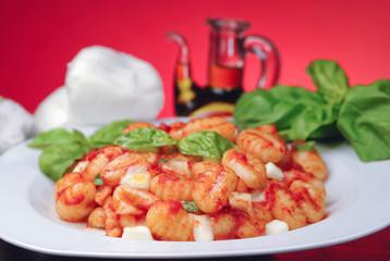 Italian gnocchi Sorrento style