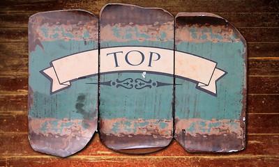 Holzmetallbild 1 - Top
