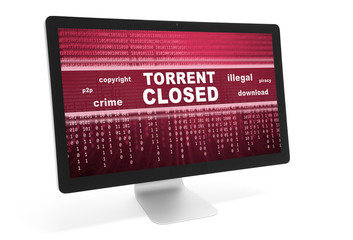 torrent closed message