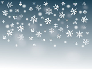 CHRISTMAS BACKGROUND 1 , SNOWFLAKES