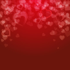 Valentine's day background, vector