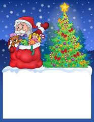 Small frame with Christmas theme 2