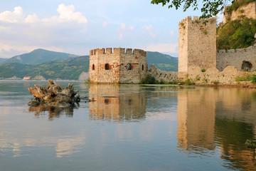 Golubac Fortress On Danube River, Serbia
