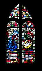 Vitrail église Notre Dame du Cap Lihou, Granville, Cotentin