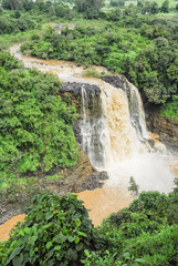 Tiss abay Falls on the Blue Nile river, Ethiopia