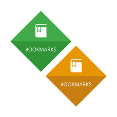 Web icons. The bookmarks