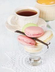Multicolored macaroons