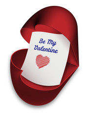 Be My Valentine - valentine´s day card