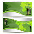 creative ,Abstract standard size web banner ads or tag