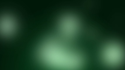 Blurred green and soft animated background
